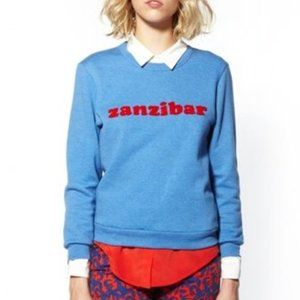 Claude Pierlot Zanzibar Embroidered Sweatshirt